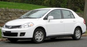 A Nissan Tiida